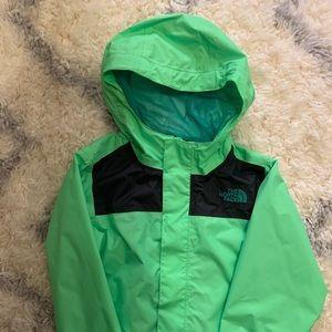 The North Face rain jacket. Boys